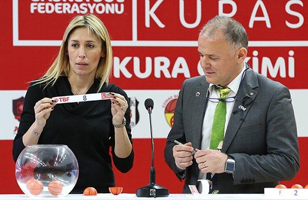 Kupada Beşiktaş ile Galatasaray eşleşti