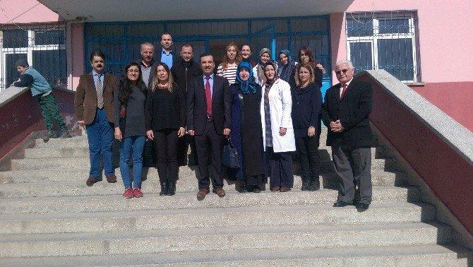Sarıcaoğlu'ndan Okul Ziyareti