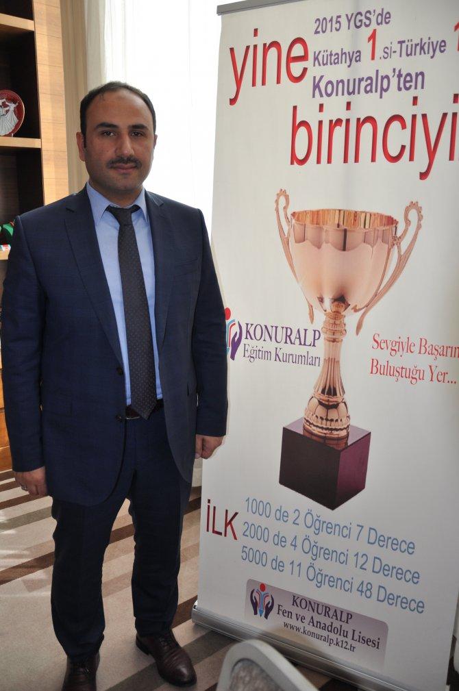 Kütahya Konuralp Türkiye'nin en başarılı 5. okulu oldu