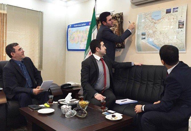 Kuzka'dan İran Başkonsolosluğu'na Ziyaret