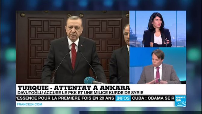 Ankara saldırısı Mali medyasında