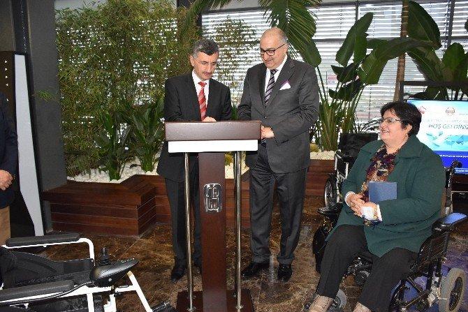 Mosb'dan Bedensel Engellilere 200 Adet Akülü Sandalye