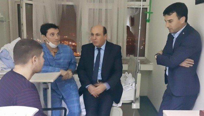 Vekil Ok GATA'da Balıkesirli Gazileri Ziyaret Etti
