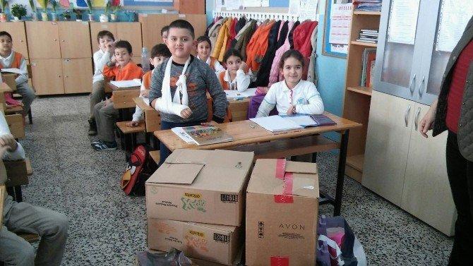 Ayvalık'ta 2. Sınıf Öğrencilerinden Anlamlı Yardım