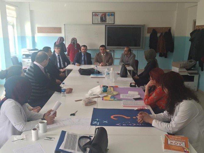 Başkan Bakıcı Arif Nihat Asya Ortaokulu'nu Ziyaret Etti