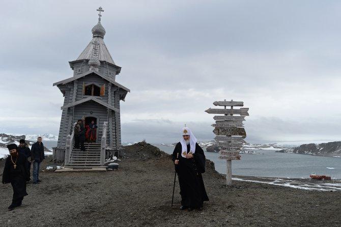 Patrik Kirill: Silahların olmadığı tek kıta Antarktika, insanlığın ideali