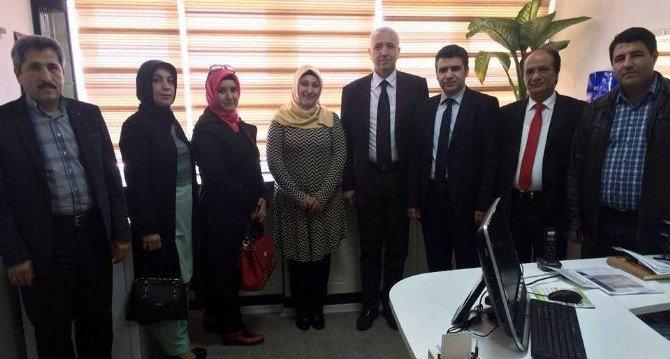 Sağlık-sen'den Göreve Yeni Atanan Personellere Ziyaret