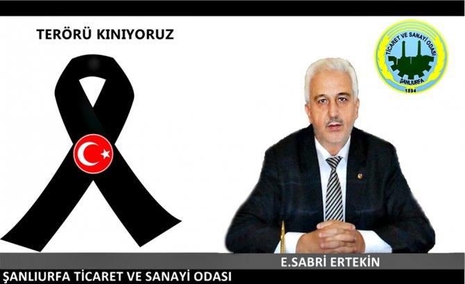 Şanlıurfa'daki STK'lar terör saldırısını kınadı