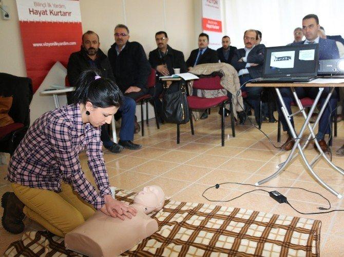 Selçuklu Belediyesi Personeline İlk Yardım Eğitimi