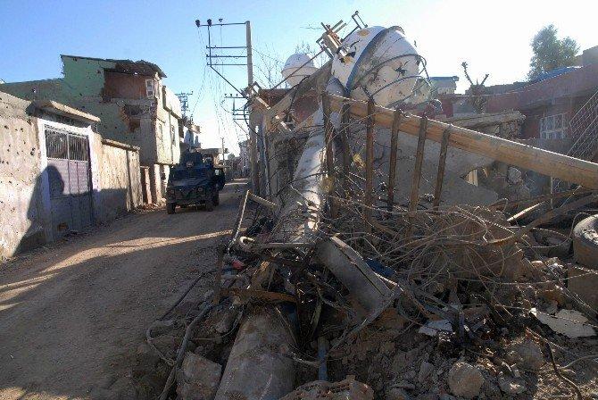 Cizre, Tuzaklanmış Bombalardan Arındırılıyor