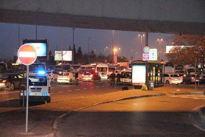 Zincirlikuyu'da Şüpheli Çanta Polisi Alarma Geçirdi