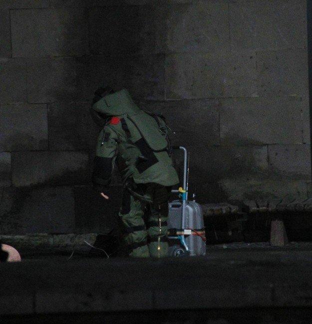 Sivas'ta Şüpheli Çanta Alarmı
