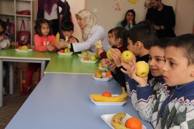 Van'da 'Sağlıklı Meyve Tabağı' Etkinliği