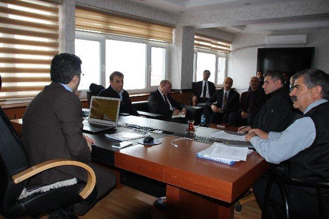 Varto'da Daire Amirleri Toplantısı