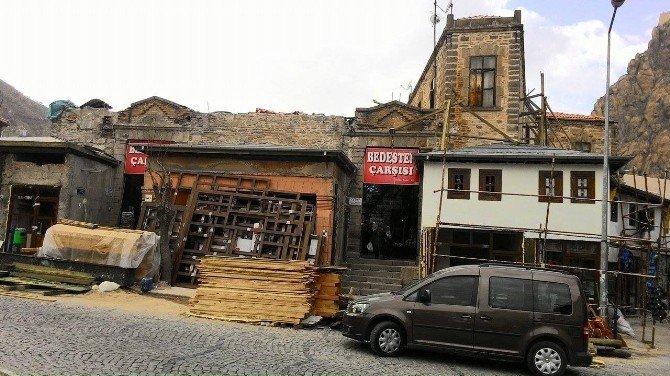 Asırlık Osmanlı Eseri Kapalı Çarşı Restore Ediliyor