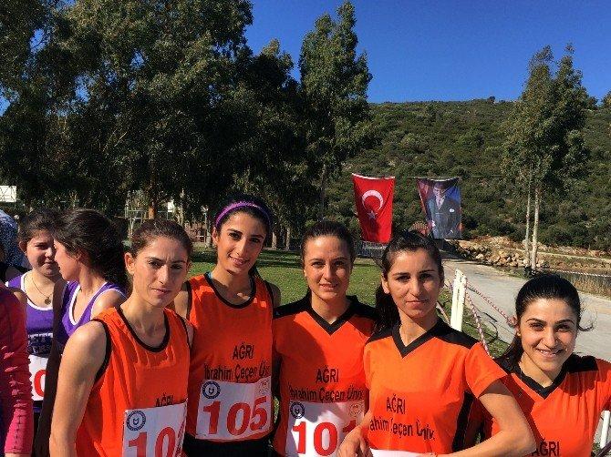 İbrahim Çeçen Üniversitesi Kros Takımı'ndan Büyük Başarı