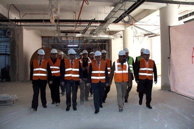 Yeni Devlet Hastanesi Eylül'de Açılacak