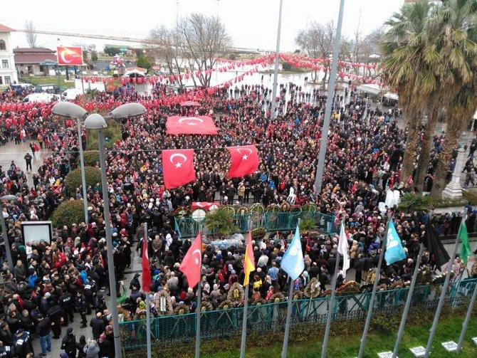 Şehit Astsubay Başçavuş Mehmet Kutlu son yolculuğuna uğurlandı