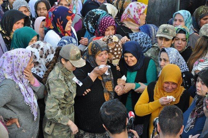 Ankara Patlamasında Şehit Olan Havacı Astsubay Başçavuş Mehmet Yener Son Yolculuğuna Uğurlandı
