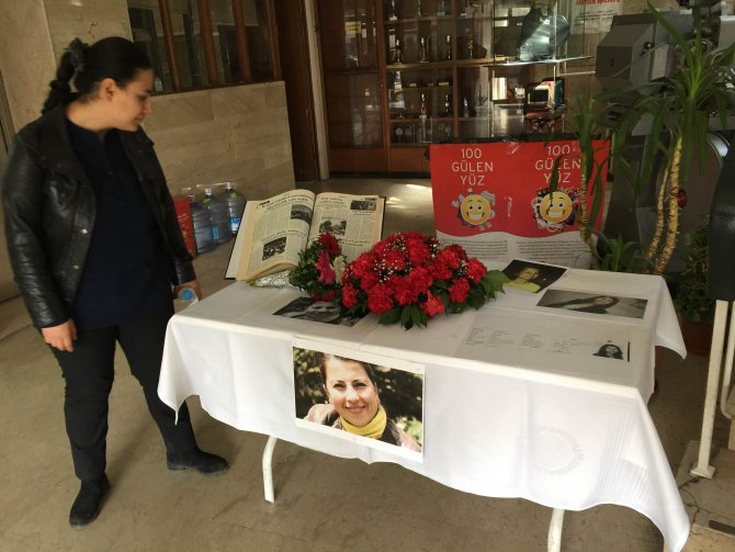 Gazeteci Yıldız, ilk haberini yazdığı 'Görünüm'de anıldı