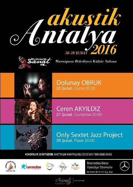 Akustik Antalya Başlıyor