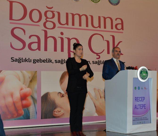 Sare Davutoğlu: Sezeryanla doğum oranı düşürülmeli