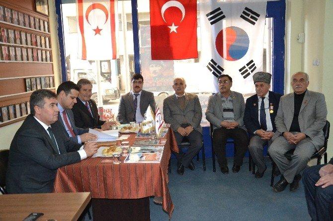 Buharkent Kaymakamı Ve Belediye Başkanından Gazilere Ziyaret
