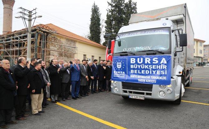 Bursa'da toplanan ilaçlar Suriye'ye gönderildi