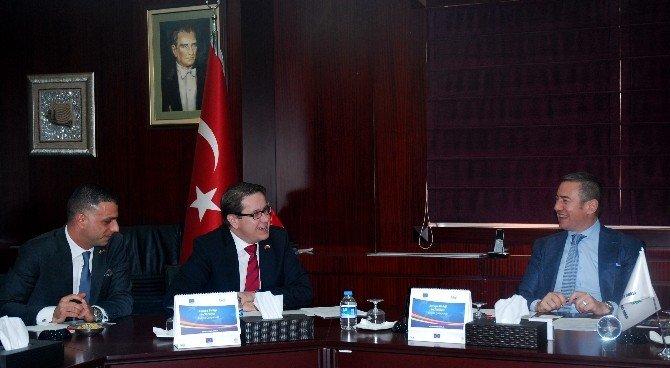Çek Cumhuriyeti Ankara Büyükelçi Kafka, GTO'yu Ziyaret Etti