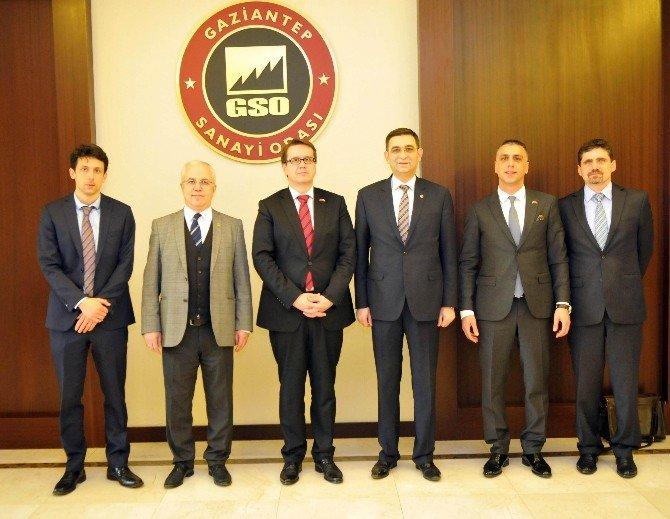 Çek Cumhuriyeti Büyükelçisi Kafka, GSO'yu Ziyaret Etti