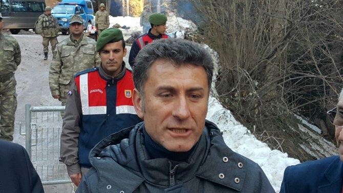 CHP'li vekile Cerattepe'ye geçiş engeli