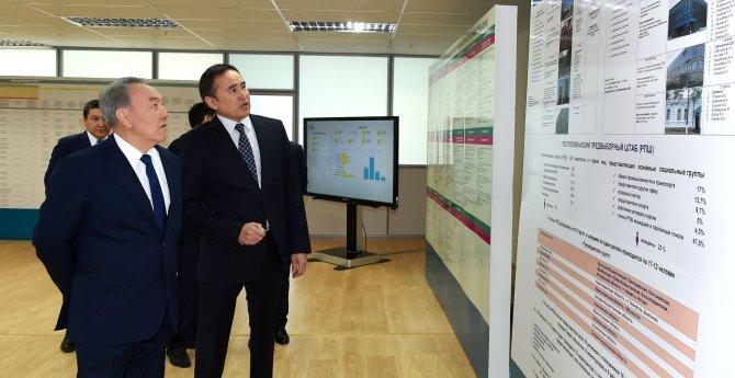 Nazarbayev seçim startını verdi