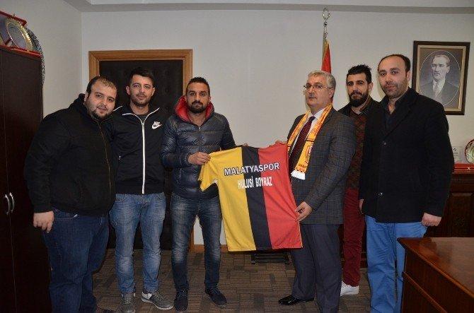 Derebeylerinden Esenlik Genel Müdürü Hulisi Poyraz'a Ziyaret