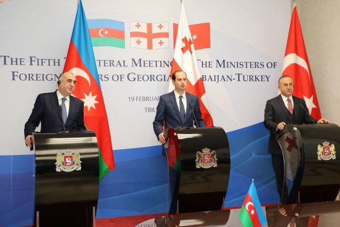 Çavuşoğlu: Projelerimiz sadece bizi değil Avrupa ve Asya'yı da ilgilendiriyor