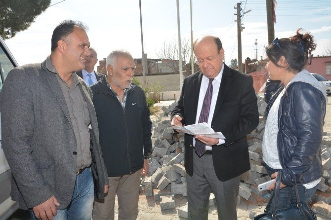 Başkan Özakcan, Yeni Yapılcak Park Alanlarını İnceledi