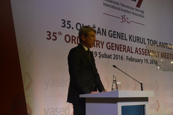 Erdem: Reformlar tamamlandığında yatırımcının temkinliliği bitecek