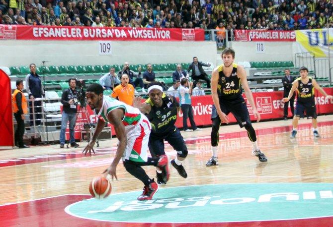 FIAT Türkiye Kupası Pınar Karşıyaka: 72 -Fenerbahçe: 82