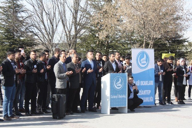 Ülkücüler, Üniversite Öğrencisi Fırat Çakıroğlu'nu Andı