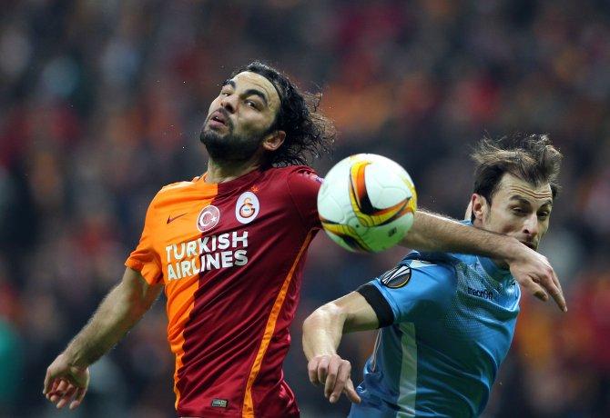 Galatasaray: 1 - Lazio: 1 (İlk yarı)
