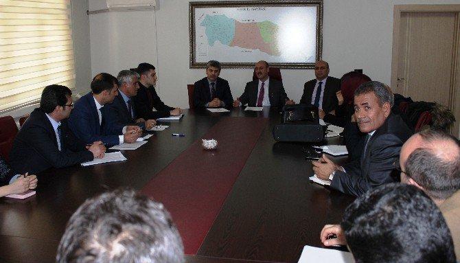 Iğdır'da TEOG Sınavı Değerlendirme Toplantısı