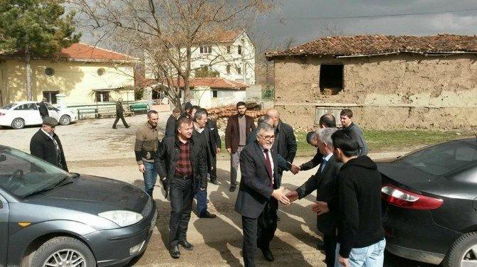 Başkan Bozkurt Ve Beraberindekilerin Mahalle Ziyaretleri