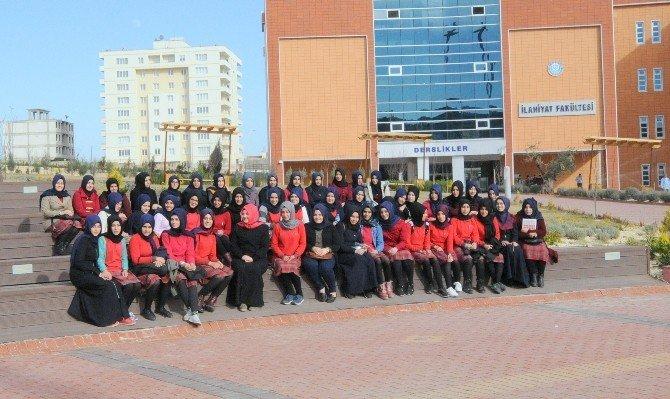 İmam Hatip Lisesi Kız Öğrencileri Kilis 7 Aralık Üniversitesini Gezdi