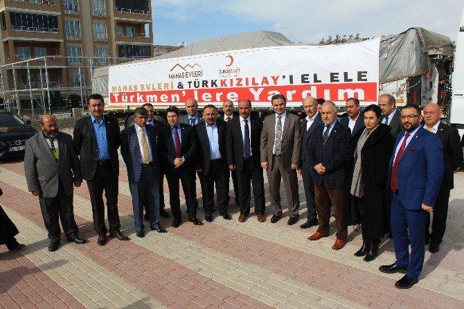 Halep Türkmenlerine Yardım Eli