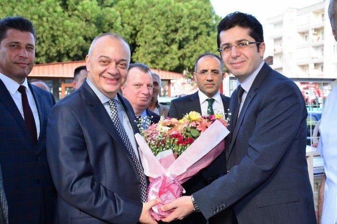 Saruhanlı Devlet Hastanesi'nden Başkan Ergün'e Teşekkür