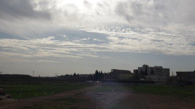 Rus jeti Nusaybin-Suriye üzerinde akrobasi hareketleri yaptı