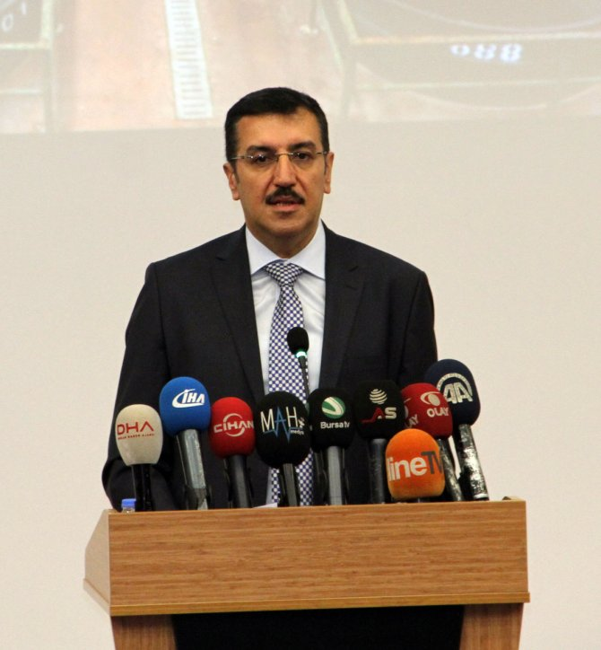 Bakan Tüfenkci: Lisanslı depo kullanan üreticileri vergiden muaf hale getirdik
