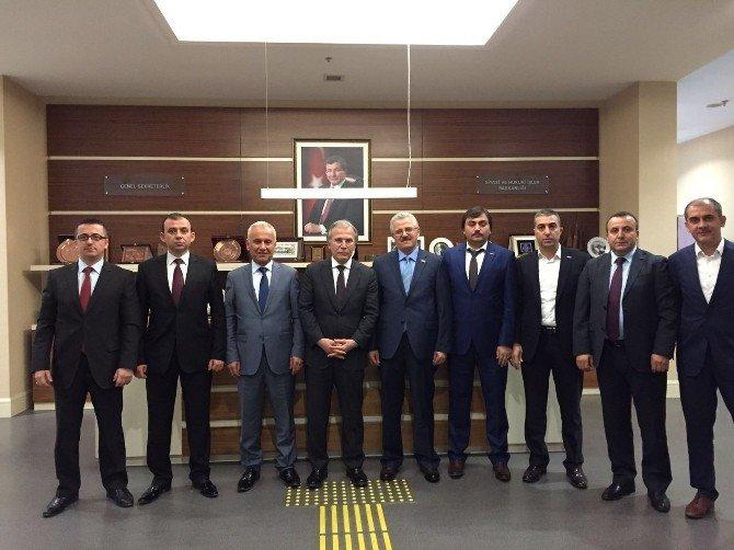 MÜSİAD Karabük Şubesinden Ankara Çıkarması