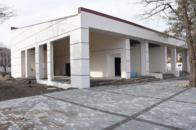 Düzce Belediyesi Nikah Salonu İnşaatı Hızlandırıldı
