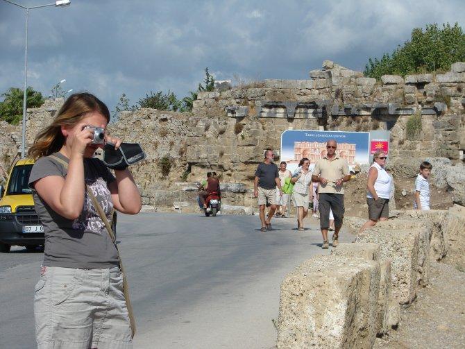 Antalya'daki tarihi ören yerlerinde Rus kültür turları sıfırlandı