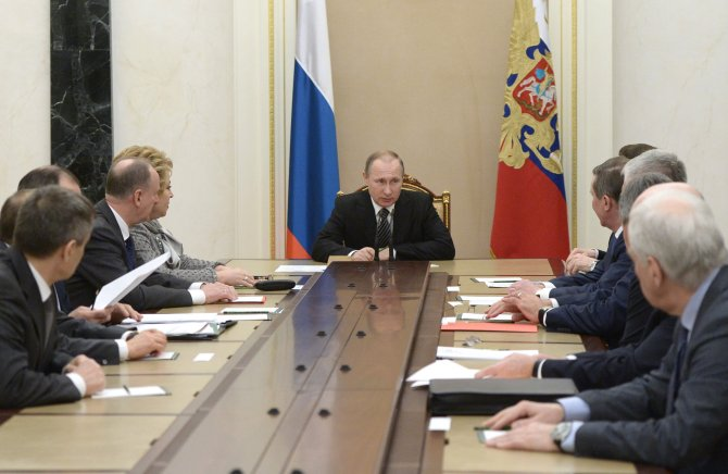 Putin, Suriye-Türkiye sınırını görüşmek için Güvenlik Konseyi'ni topladı
